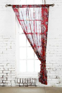 Magical Thinking Ruby Garden Curtain #urbanoutfitters