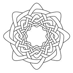 Celtic Knot Work Octa Wheel By Peter Mulkers