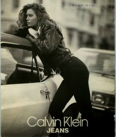 Carre Otis, Marcus Schenkenberg and Eric Osland for Calvin Klein Jeans, 1991 Photographed by Bruce Weber Calvin Klein Ads, Calvin Klein Women, Hipster Babys, Tommy Hilfiger, Calvin Klien, Bruce Weber, Campaign Fashion, Paris Mode, Moda Vintage