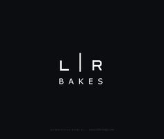 Modern Logo Design by Letter Lodge | www.letterlodge.com | Lauren Ritchie Bakes, Vancouver, Canada | Modern Simple White Black Minimal Edgy Bold Typography Business Branding Brand Board Design | Weddings Event and Styling | Creative Design Studio