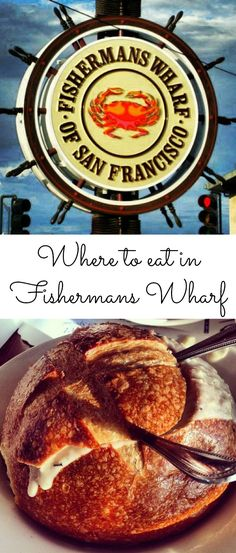 Where to eat in San Francisco's Fishermans Wharf...yummy! #food #travel #USA                                                                                                                                                                                 More