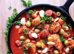 Crazy-Easy One-Pot Recipes That Aren't Pasta ~ Spanish Chicken Stew