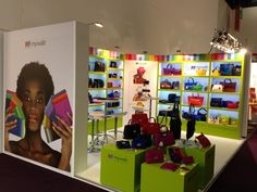 Mywalit stand at a trade fair in Frankfurt