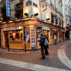 The Latin Quarter, Paris photography by Christine Lueddecke
