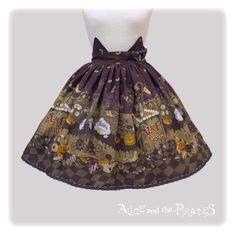 Tricky Nightmare Factory skirt.