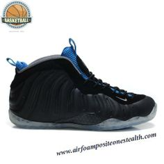 Nike Air Foamposite One Black Varsity Royal Men's Basketball Shoes