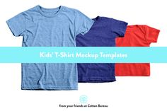 Kids T-Shirt Mockups (AA) by Cotton Bureau on Creative Market