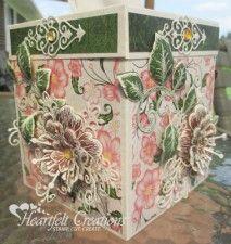 Arianna Blooms Tissue Box