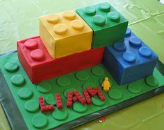 LEGO Bricks Cake – Piper Cakes