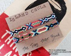 Unisex Friendship bracelet set/BFF/Couple/Best friend/stack/Set of 2