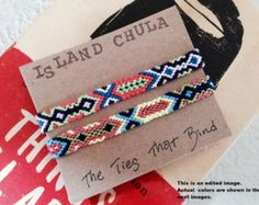Unisex Friendship bracelet set/BFF/Couple/Best friend/stack/Set of 2