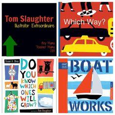Book Mama: Children's Book Illustrator Extraordinaire, Tom Slaughter