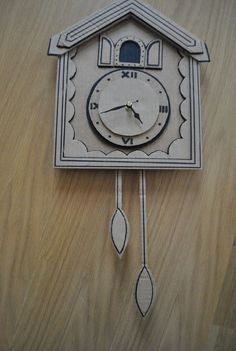 Coo-coo Clock (cardboard)