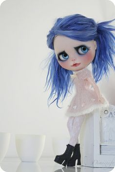 Thale and her Ohchiwawa dress #Blythe #Custom #Alpaca