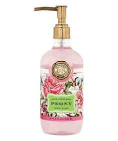 Look what I found on #zulily! Peony Dish Soap #zulilyfinds