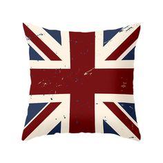 Anglophilia Pillow