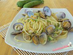 Pasta con vongole e zucchina