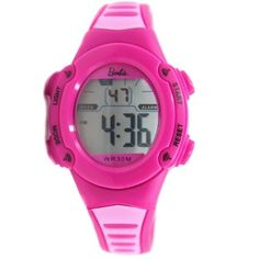 DW136I Magenta Watchcase Alarm BackLight Water Resist Ladies Women Digital Watch