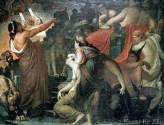 Sir William Blake Richmond - Orpheus in der Unterwelt