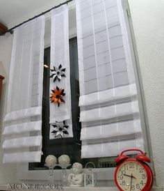 Laudry Room Ideas, Window Coverings, Window Treatments, Curtain Designs, Window Design, Modern Interior Design, Window Curtains, Ideas Para, Ladder Decor