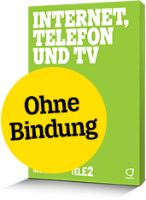 Tele2 Internet, Telefon und TV 30 - Anmeldung