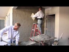 Plaster like the professionals for DIY warriors. Plaster Tips from the Giordano Gents. - YouTube