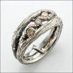 Twig Rings by Micky Roof  i think this might be my fav!!!