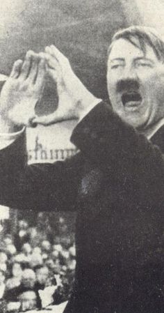 Hitler making the same hand signs as JayZ, Beyonce,  Rhianna and other celebrities