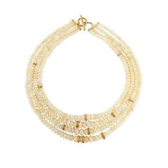 Yossi Harari: Four-Strand Roxanne Opal Necklace