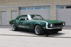 Steve's gorgeous '68 Camaro, by Georgia's Kenwood Rod Shop, is powered by a…