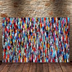 All In #24, 90 x 60 cm - 36 x 24 in - In-context view (home interior)