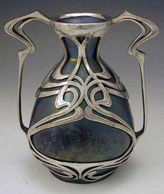 Zsolnay art nouveau vase, 1900