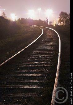 Railroad Tracks, Country Roads, Beautiful, Train Tracks