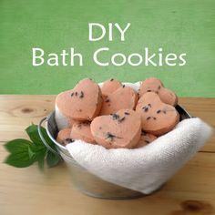 Paula Parrish: DIY Bath Cookies