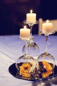 24 Clever Things To Do With Wine Glasses Tischdeko mit Kerzen und Blumen unter Glas Spiegel z. von Ikea im Viererpack The post 24 Clever Things To Do With Wine Glasses appeared first on Kerzen ideen. Event Planning, Wedding Planning, Budget Wedding, Wedding Themes, Budget Bride, Cheap Wedding Ideas, Wedding Photos, Wedding Dresses, Wedding Tips