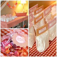 pancakes & pj's party favors