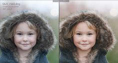 before and after Lightroom edit using the HSL panel by Danielle Hatcher