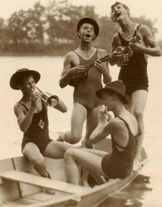 Vintage Photo Four Boy Scouts circa 1939 Quartet in Swimsuits Whimsical Group Vintage Photographs, Vintage Images, Vintage Pictures, Mode Vintage, Vintage Men, Old Pictures, Old Photos, The Last Summer, Photos Originales