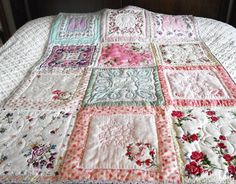 MOTHER Vintage Hankies Quilt
