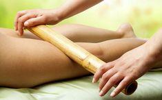 Massagens que emagrecem:  Modeladora com bambu - A massagem com bambu é indicada para tratar gordura localizada e celulite.