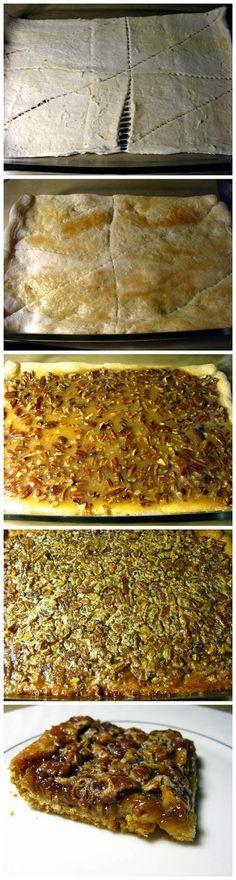 Latest Food: Pecan Pie Bars - Dünya mutfağı - Las recetas más prácticas y fáciles Pecan Recipes, Fall Recipes, Sweet Recipes, Holiday Recipes, Cooking Recipes, Pie Recipes, Recipies, Dessert Drinks, Dessert Bars