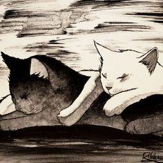 Raphaël Vavasseur Art — BLACK & WHITE - Raphaël VAVASSEUR - Peinture...