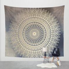 DESERT SUN MANDALA | http://Society6.com Wall Tapestry