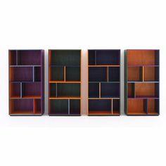 Libreria Modern RGB Caleido - design Piero Lissoni - Porro