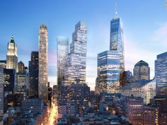 Après la « One World Trade Center », la « Two World Trade Center » sortira bientôt de terre.
