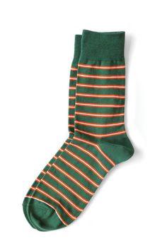 Richer Poorer - Po Boy Green Socks :: Maxton Men