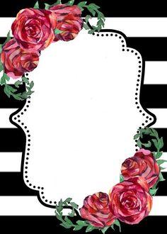 Framed Wallpaper, Flower Background Wallpaper, Frame Background, Flower Backgrounds, Wallpaper Backgrounds, Iphone Wallpaper, Wallpapers, Frame Floral, Flower Frame