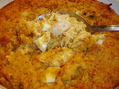 Southern With A Twist: Chicken n Dressin' Casserole. One of my favorites.
