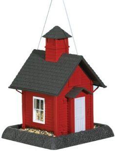 North States Village Collection Around Town-Birdfeeder-School House