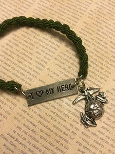 I love my hero with ega boot band by ShellysCreations11 on Etsy